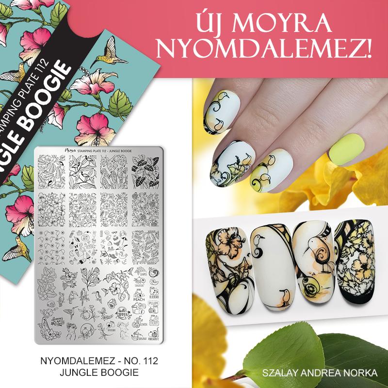 Moyra Körömnyomda lemez 112 Jungle Boogie