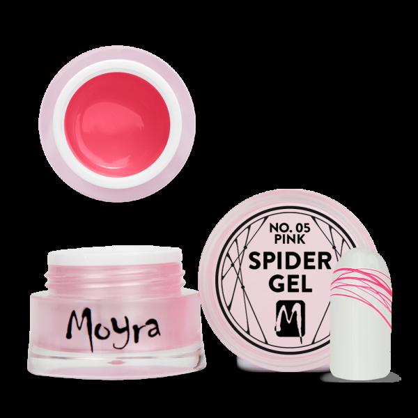 Moyra Spider gel No. 05 Pink